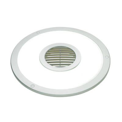 Heller Hefl10Rs 10 Inch 2 In 1 Exhaust Fan And Light  - Silver