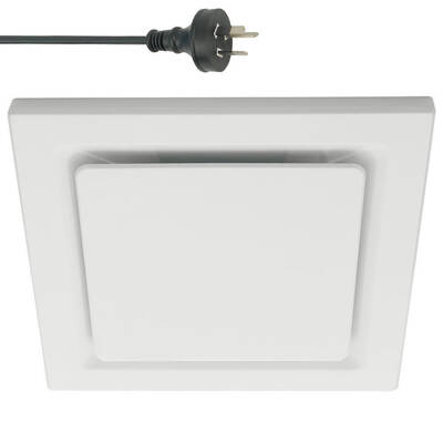 250mm Off-White Ducted Exhaust Fan