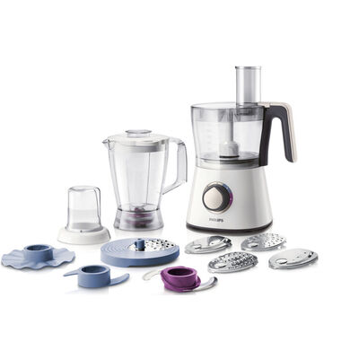 Philips Hr7761 750W Food Processor Blender Grinder Mill Slicer Shredder Chopper