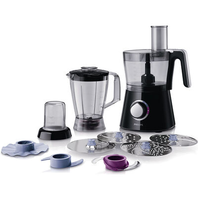Philips HR7762 750W Food Processor 3in1 Blender Grinder Slicer Shredder Chopper
