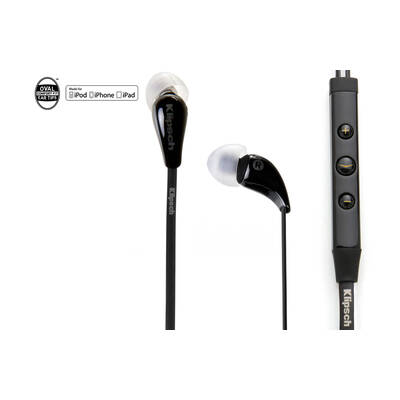Klipsch Image X7I Bk In-Ear Headphones 3-Button Control & Mic Ipod Iphone Ipad