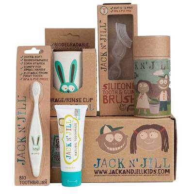 Jack n Jill Bunny Kids Baby Organic Oral Care Gift