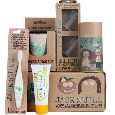 Jack n Jill Dino Kids Baby Organic Oral Care Gift