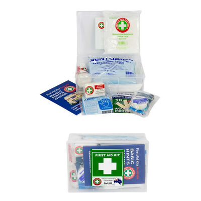 20Pc Compact Essential Safety First Aid Kit Medical Injury Treatment Home/Car