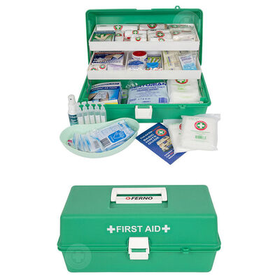 79Pc Emergency Medical First Aid Kit Injury Treatment Locking Portable Case