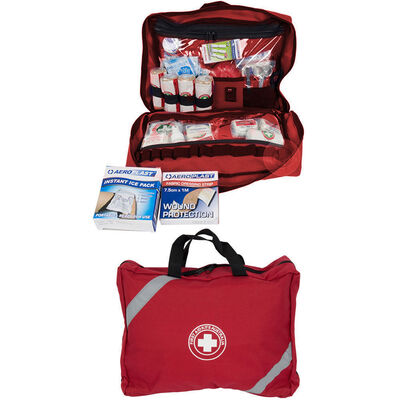 73Pc High Risk/Remote Area First Aid Kit Treatment Medical Survival Snake Bite