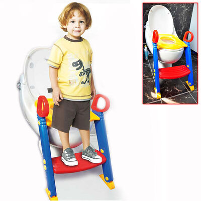 Kids Toilet Ladder Training Seat