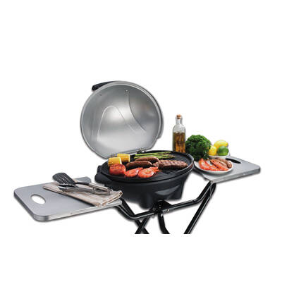Portable Non Stick Electric Bbq With A Stand