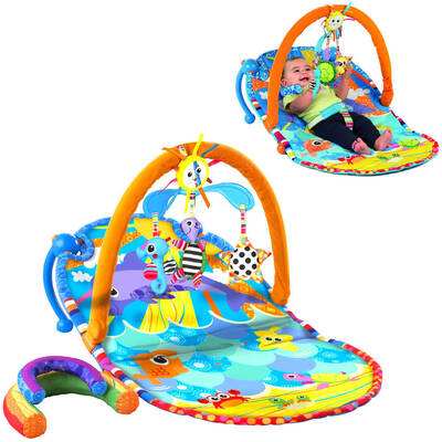 Lamaze Sit and See Foldable Baby Chair Activity Mat