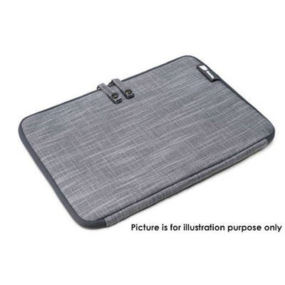"Booq Msl11-Gry Mamba Sleeve 11"" 11-Inch For Macbook Pro Air Laptop Jute Gray"