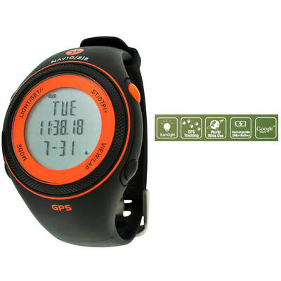 Navig8R Navwatchs20-O Gps Sports Orange Watch Goog