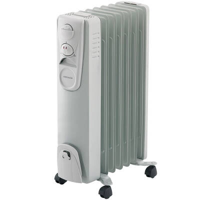 Heller Oil7 1500W 7 Fin Oil Column Electric Heater