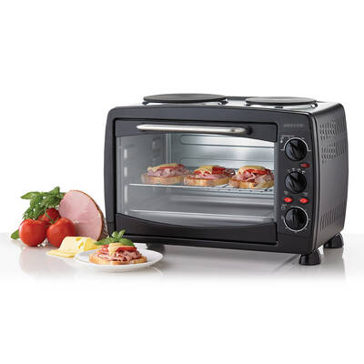 28L 1500W Electric Oven Toaster Oven/60Min Timer/D