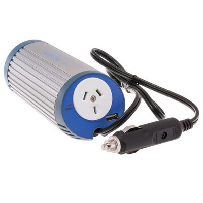 150W 12V Dc-240Vac Car Can Inverter Outlet Power/Usb Port For Laptop Radio Tv