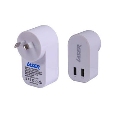 Home Office Universal 12W 2.4Amp Dual Usb Wall Cha