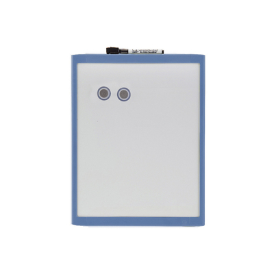 28X36Cm Blue Wall Mountable Magnetic Whiteboard/Picture Frame W/Marker/Magnet