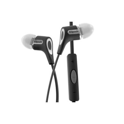 Klipsch Reference R6I Black Headphones 3-Button For Ipod Iphone Ipad Remote/Mic