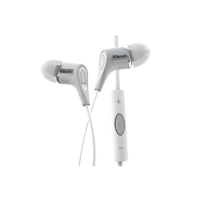Klipsch Reference R6I White Headphones 3-Button Ipod Iphone Ipad Remote/Mic
