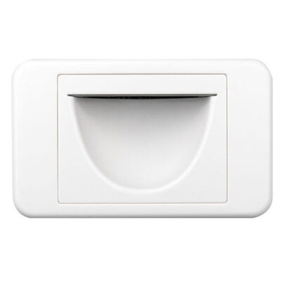Reverse Bullnose Wall Plate Flush Cover In Wall Wires Cables For Tv Installation