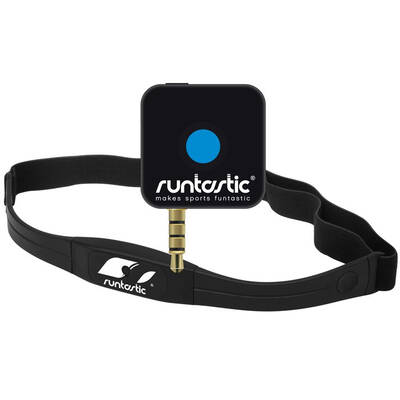 Runtastic Receiver & Heart Rate Monitor With Chest Strap For Iphone, Android, Blackberry, Windows Phone