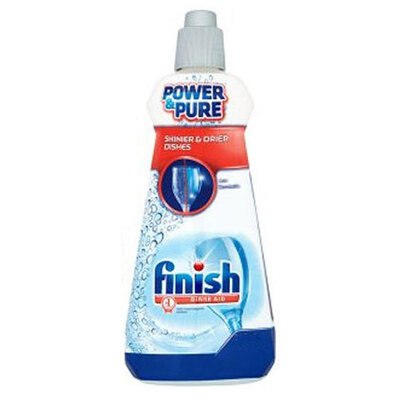 Finish 385Ml Dishwashing Rinse Aid Shine & Dry Regular Shiny/Clean/Dry Dishes