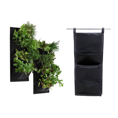 4 Pocket Vertical Garden Hanging Wall Planter