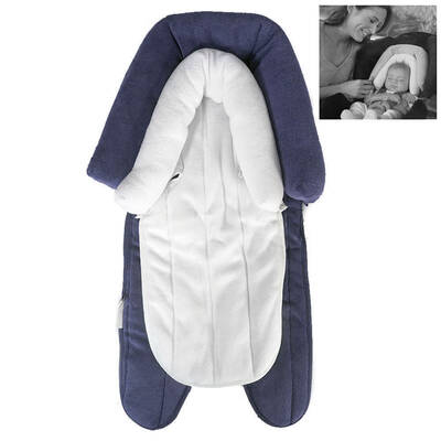 2In1 Baby Soft Plush Pad Padding Head/Neck Support For Car Seat/Carrier Stroller