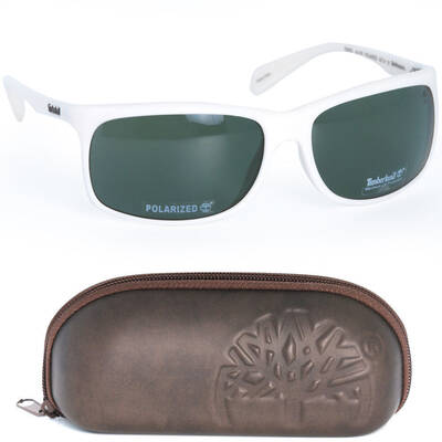 Genuine Timberland White Polarised Sunglasses 100%