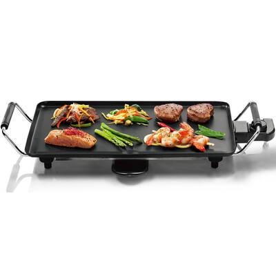 Kitchen 2000W Electric Teppanyaki & Bbq Grill