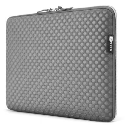 Grey Booq Taipan Spacesuit Protective Sleeve Case for 15 inch Macbook/Laptop/PC