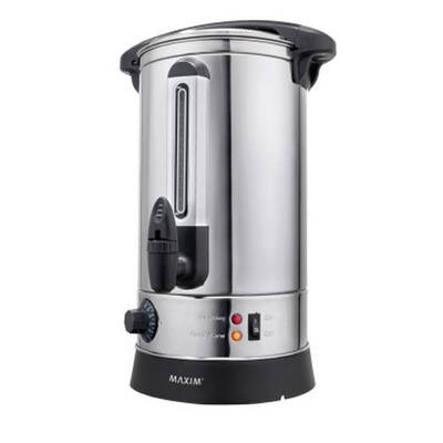 Maxim Urm10 Stainless Steel Urn 10 Litre 10L 40 Cup - Boiling Warm / Hot Water