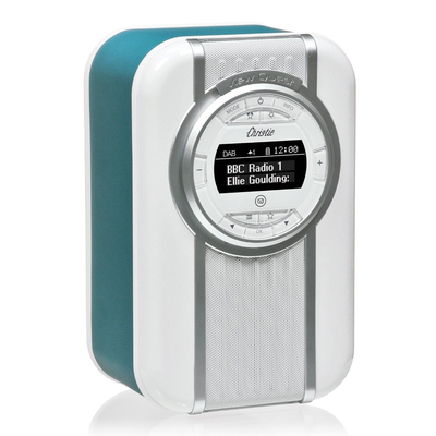 Teal View Quest Christie DAB+ FM Digital Radio/LED Bluetooth Portable Speaker