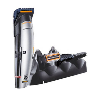 Vs Sassoon Vsm837A Metro Rechargeable Cord/Cordless Multigroom Grooming Waterproof Hair, Beard, Nose, Stubble/Trimmer