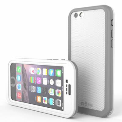 Dog & Bone Wetsuit Impact Case for iPhone 6/6s White