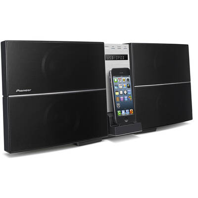 Pioneer X-Smc55 Micro System Dock Lightning Cd Player/Airplay For Iphone 5 6 +