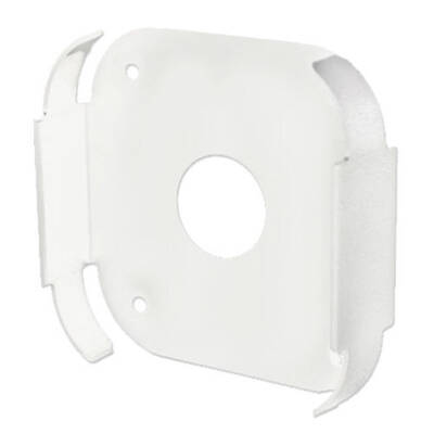 White Smart Wall Bracket Mount Tray Frame For Apple Tv / Airport Express Series