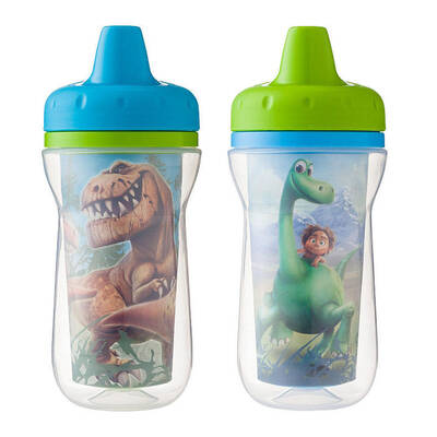 2PK Disney The Good Dinosaur Insulated Sippy Cups