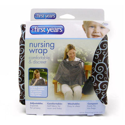 The First Years y4381 wide neck Nursing Privacy Wrap - breastfeeding cover