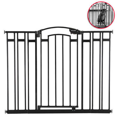 The First Years Black  Baby and Pet  Safety Gates