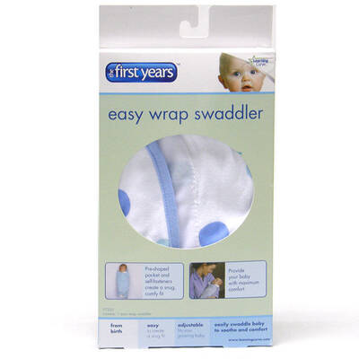 First Years Baby Easy Wrap Swaddler