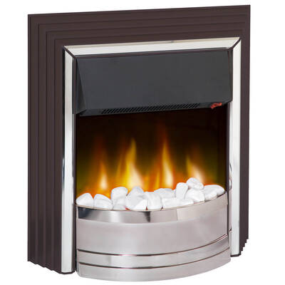 Dimplex Zamora Electric Fireplace Heater Heat/Fire