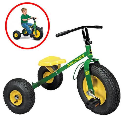 John Deere Mighty Trike >> John Deere Ride On Pedal Mighty Trike Tractor Toy Tricycle Online , KG Electronic