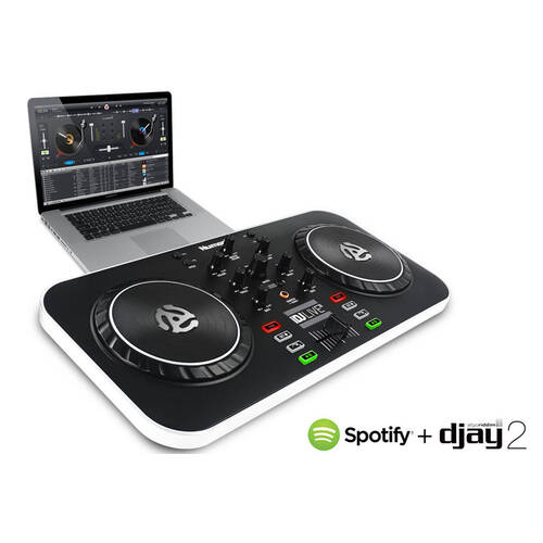 Numark Idj Live Mixer/Controller/Turntable Create/Remix Music For Pc/Ipad/Iphone