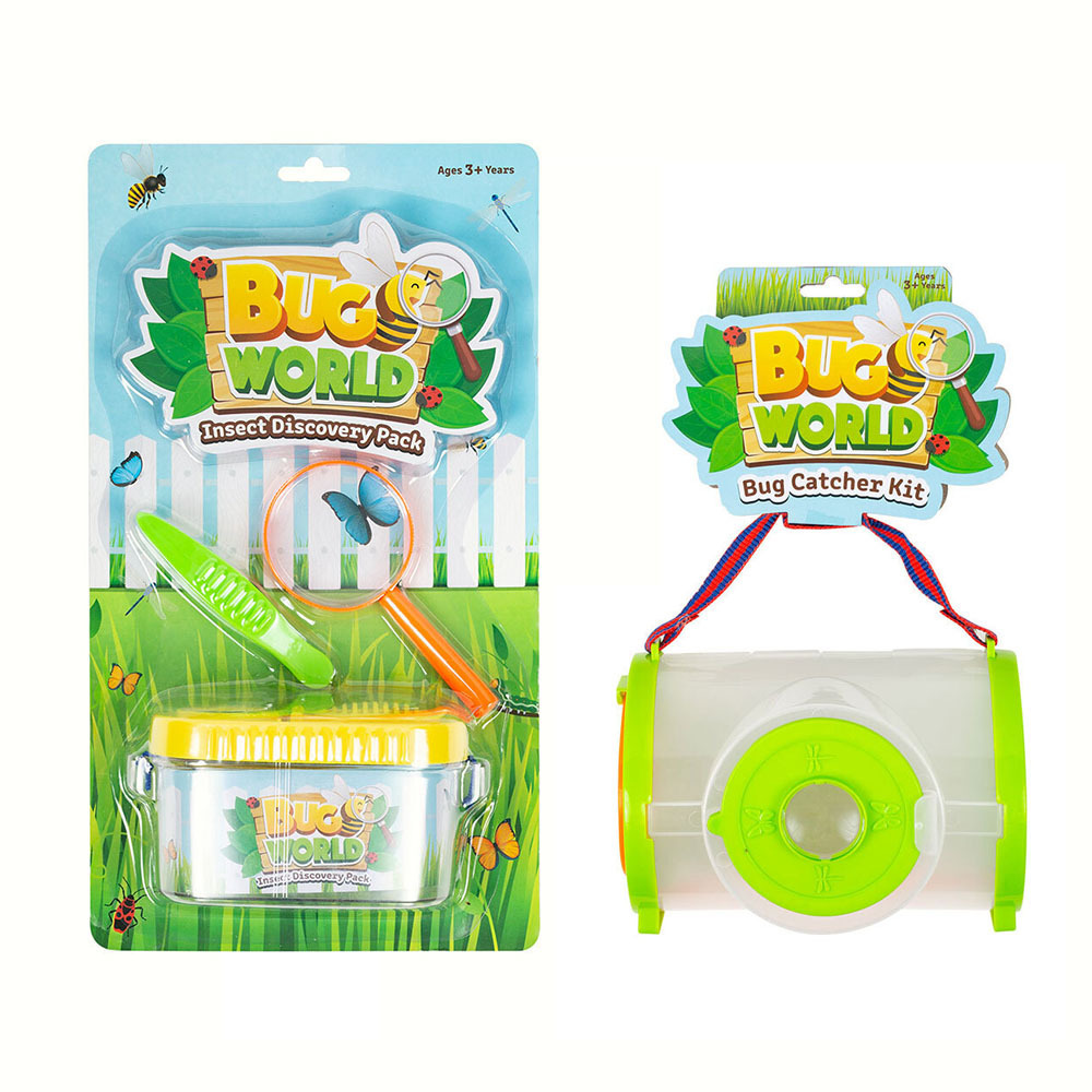 7pc Bugs World Insect Discovery & Bug Catcher Kids ...