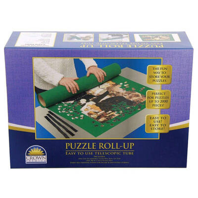 Crown Puzzle Roll Up Tube