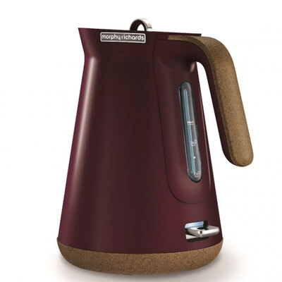 Morphy Richards Aspect Cork Electric Kettle - Maroon