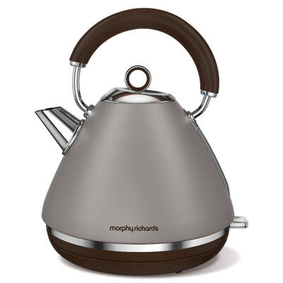 Morphy Richards 102102 Accents Pebble Brown Kettle