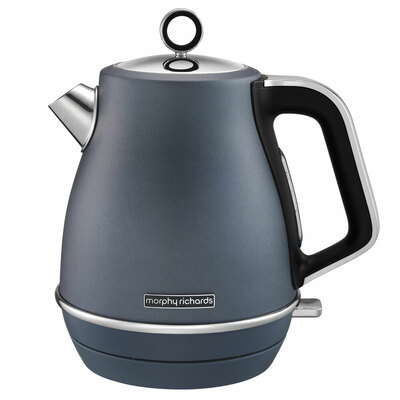 Morphy Richards Evoke 1.5L Jug Kettle Stainless Steel - Blue
