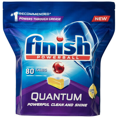 80PK Finish Quantum Max Powerball Power Gel Lemon Tabs