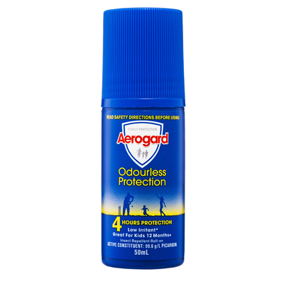 Aerogard 50ml Odourless Insect Repellent Roll-On